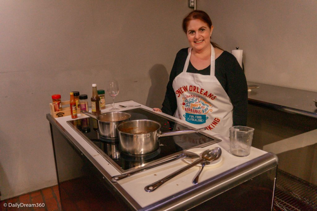 Cooking Class at New Orleans School of Cooking
