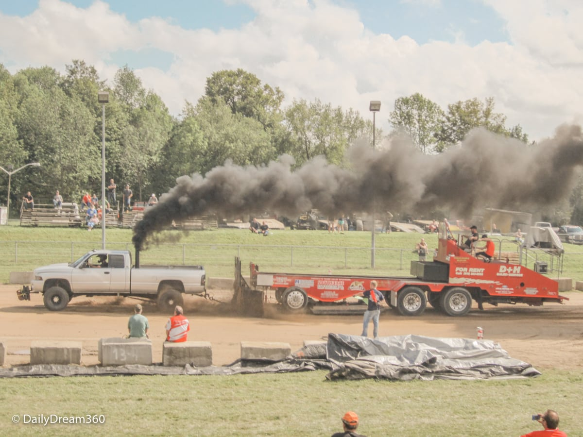 Truck Pull at Orangeville Fall Fair