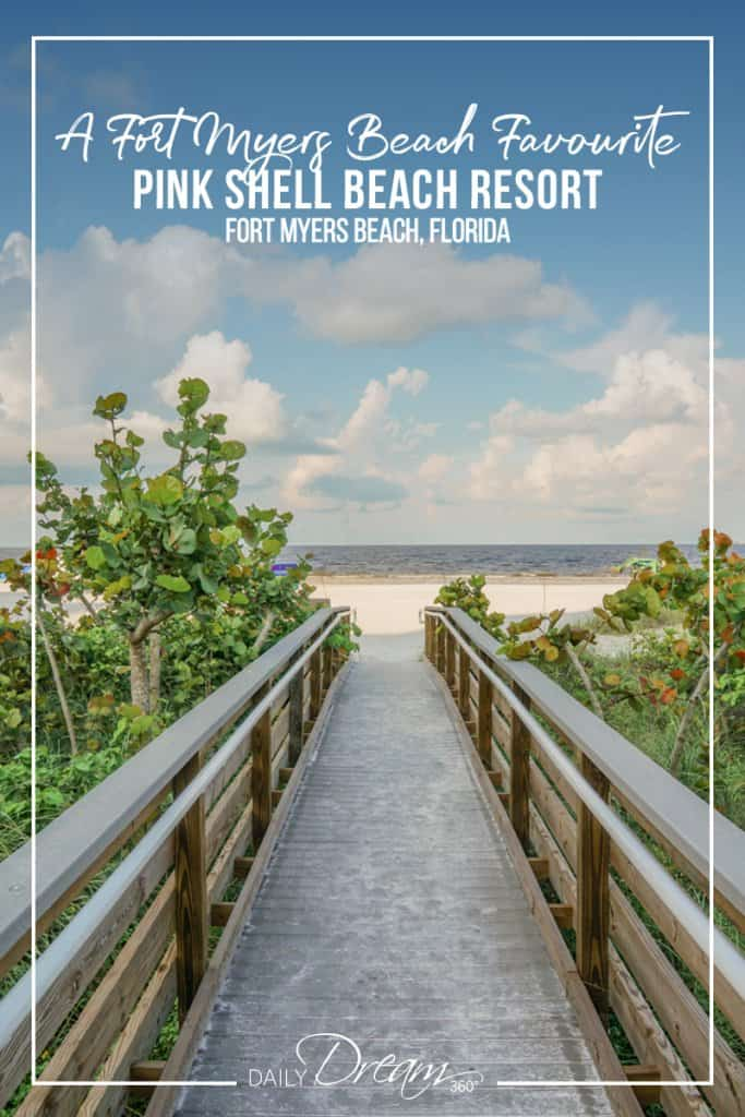 Walkway to the beach from Pink Shell Beach Resort Fort Myers Beach