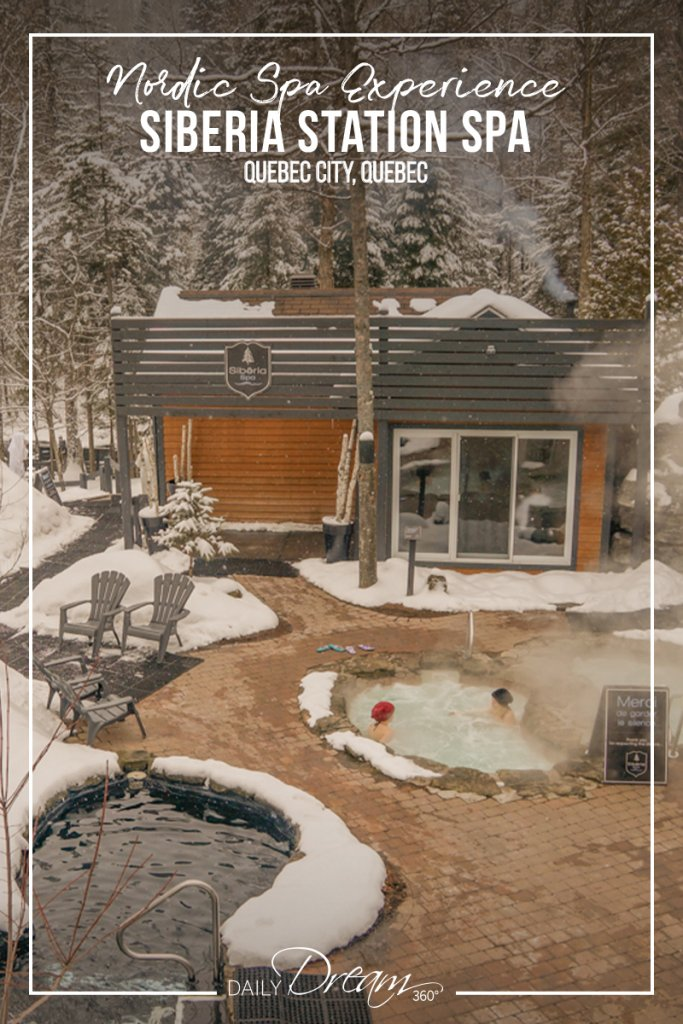 Nordic Experience at Siberia Station Spa Quebec City