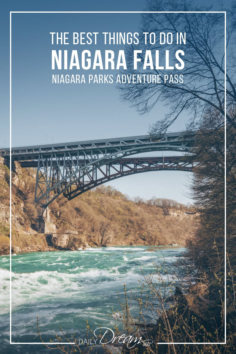 Planning a trip to Niagara Falls? Consider a Niagara Parks Adventure Pass an attractions pass with many of the best things to do in Niagara Falls Canada. #niagarafalls #attractionpass #niagaraattractions #travel