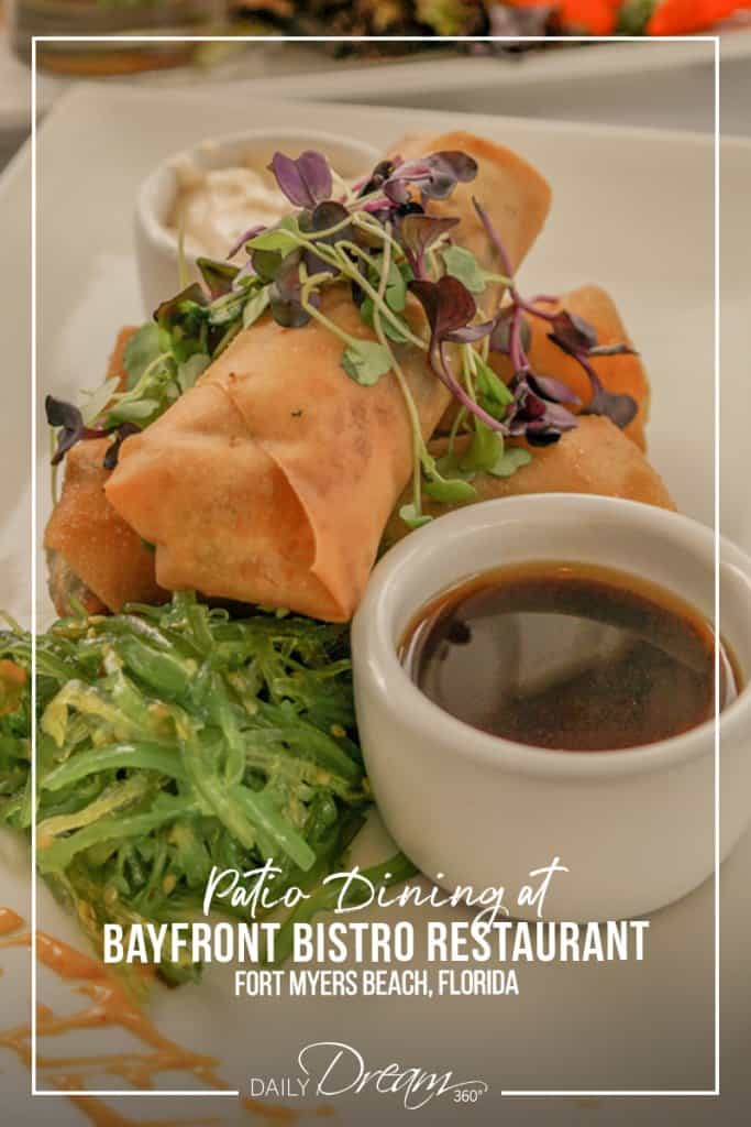 Delicious appetizers at Bayfront Bistro Restaurant Fort Myers Beach