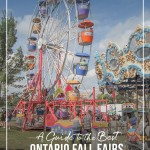 Ferris wheel and midway at Ontario Fall Fair