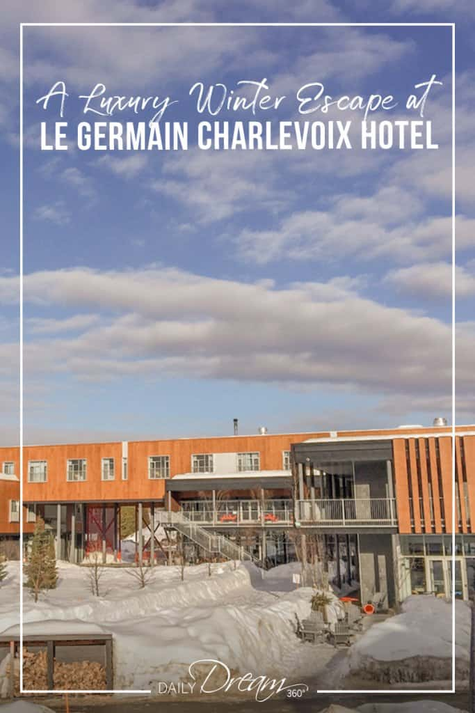 Modern building at Germain Charlevoix Hotel