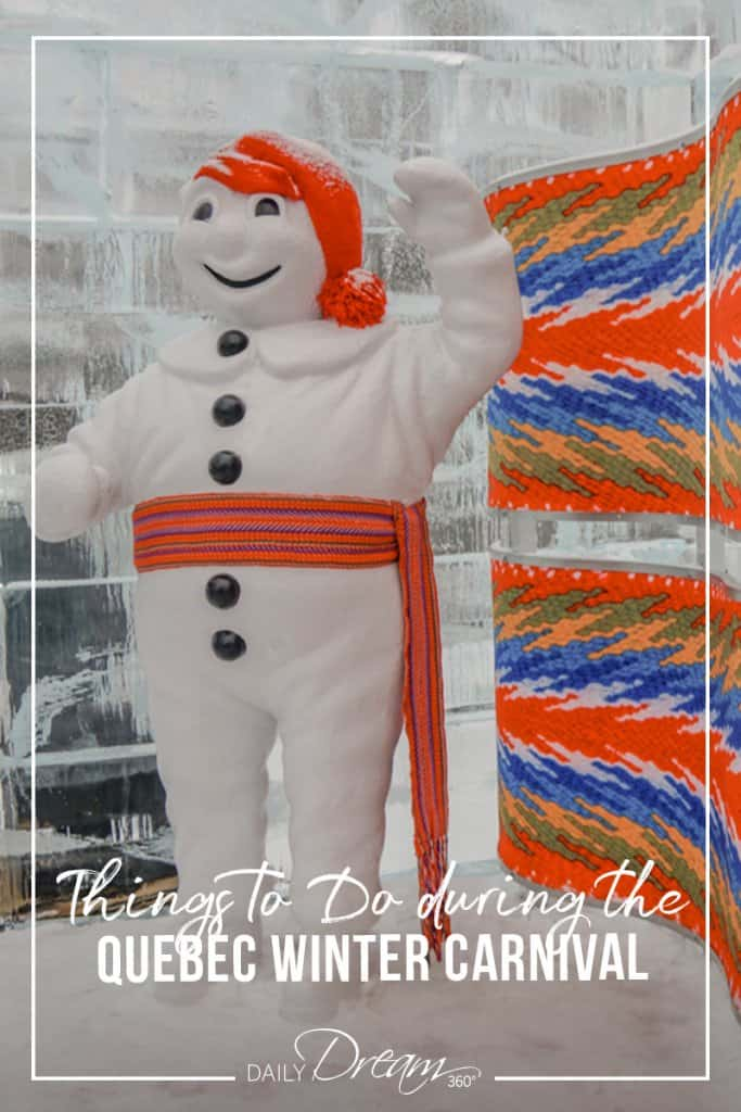 Bonhomme Carnival at Quebec Winter Carnival