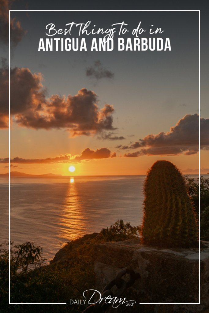 sunset from Shirley Heights Antigua