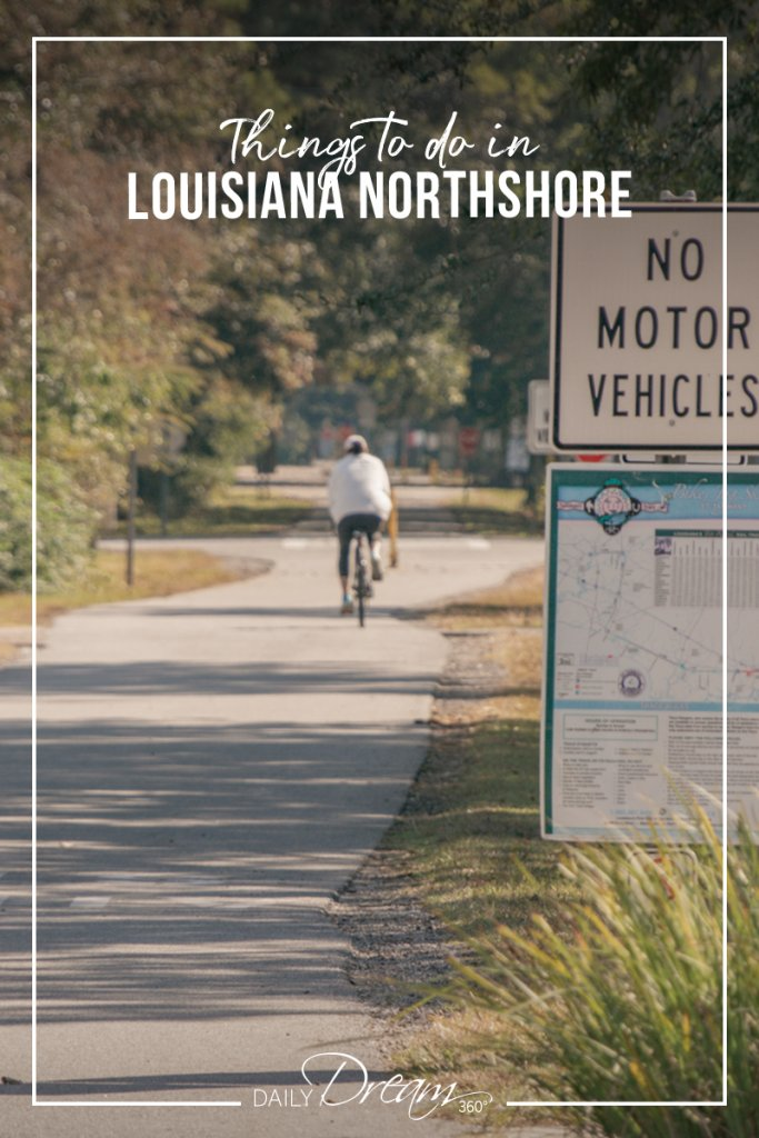 Bike ride on the Tammany Trace trail