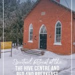 Church building at the Hive Centre and Bed and Breakfast