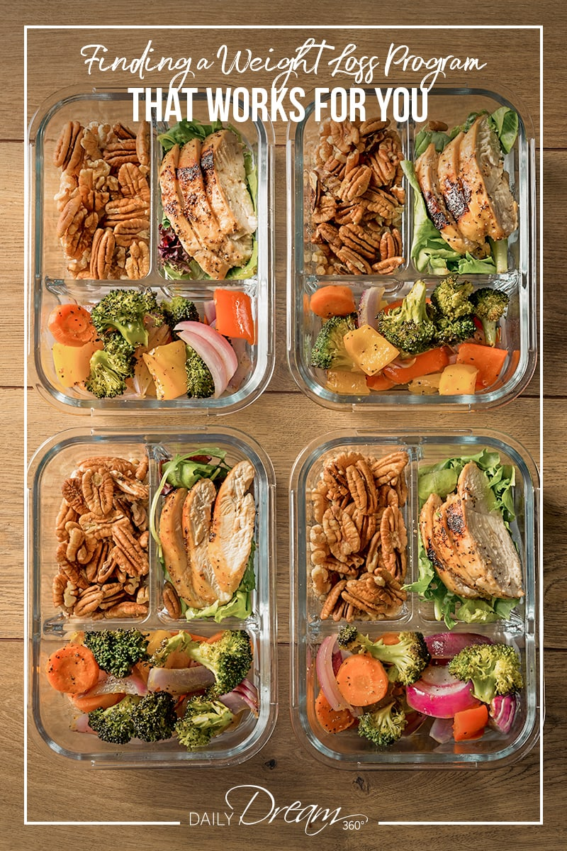 Healthy meals prepped on counter