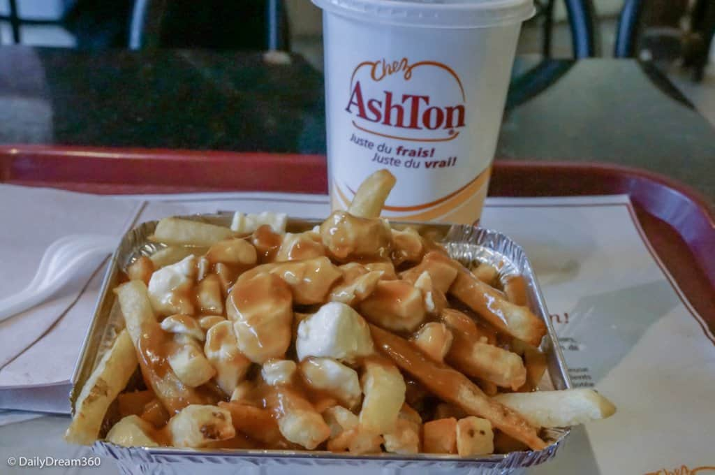 Poutine at Chez Ashton Quebec City