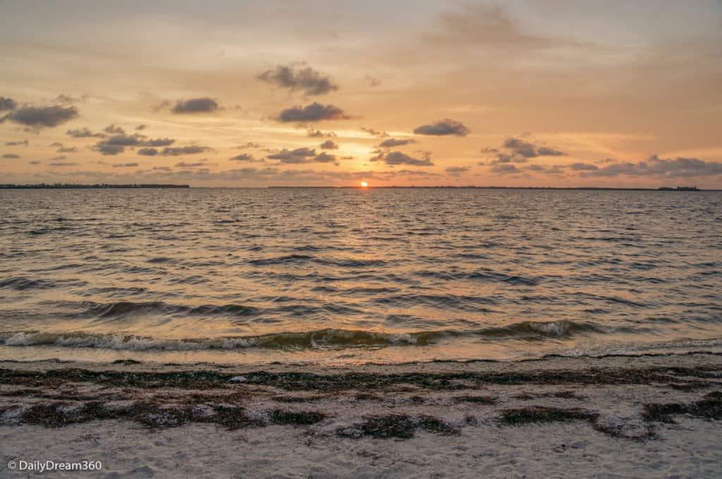 Sunset on Sanibel Beach