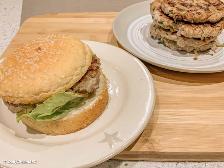 Ground Turkey and Zucchini Burgers or Meatballs