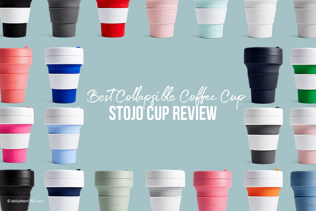 -stojo cup review-best collapsible coffee cup