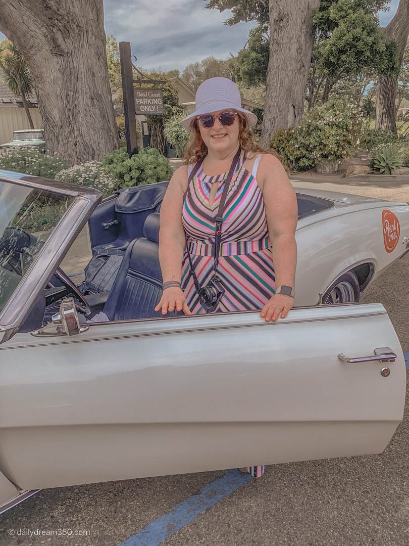 Sharon Mendelaoui and Classic Car Rental Monterey California